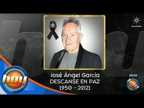 Muere el director José Ángel García, papá de Gael García | Hoy