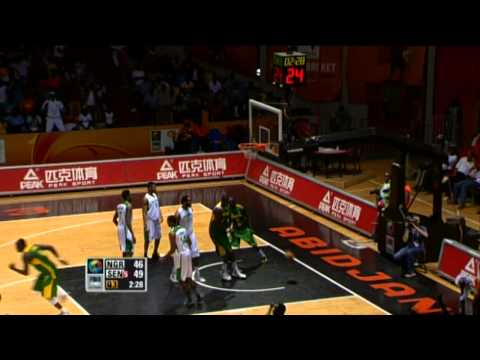 #AfroBasket - Day 9: Nigeria v Senegal (highlights)