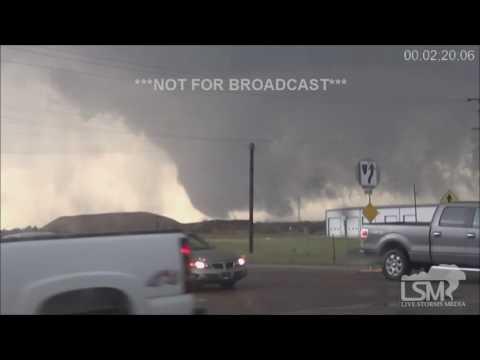 5-24-16 Twin Tornadoes Dodge City, KS