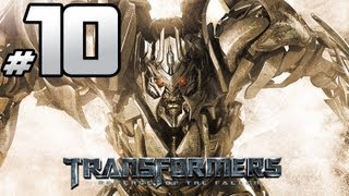 Transformers Revenge Of The Fallen - Decepticon Campaign - PART 10 - Megatron Wants To Be Inside Sam