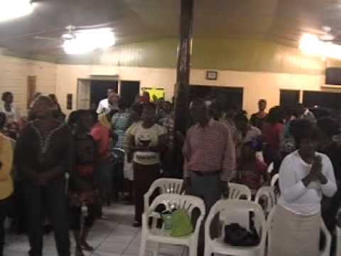 City of Faith Deliverance Center, July 2013 Convention Antigua,, Open The Flood Gates of Heaven, Let