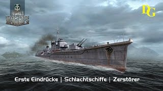WoWS - Schlachtschiff | Zerstörer | USA - Deutsch - Lets Play World of Warships