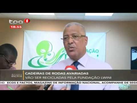 FUNDAÇÃO LWINI ENTREGA MEIOS TÉCNICOS DE LOCOMOÇÃO
