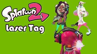 Splatoon 2 Laser Tag!