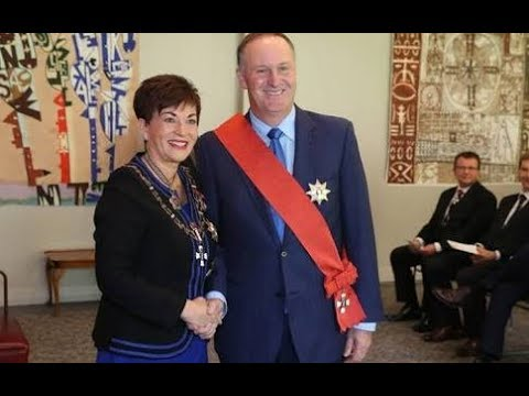 Sir John Key officially a Knight Of New Zealand 🇳🇿