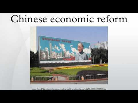 An introduction to the chinese economic reform