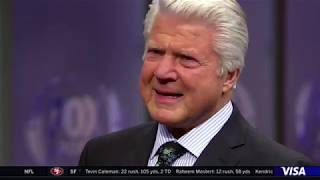 Jimmy Johnson learns he's going to Canton (NFL Hall of Fame) LIVE.