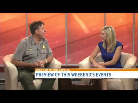 Mike Litterst with the National Park Service previews 4th of July events in  D C