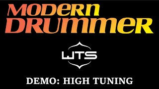 Modern Drummer Demo: Welch Tuning Systems (High Tuning)