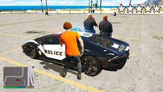 STEALING a $1,000,000 POLICE Supercar in GTA 5 RP