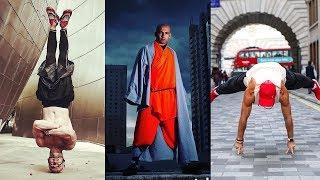 �������� ���� Вот на что способен монах Шаолиня в реальной жизни - Mj Shaolin ������