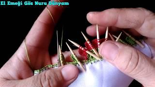 Tığ İşinden Kürdanlı Oya #Crochet  HD