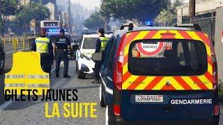 GTA 5 RP | GILETS JAUNES - ROUTE BLOQUÉE | GENDARMERIE