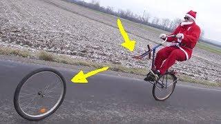 Mikołajowe triki rowerowe