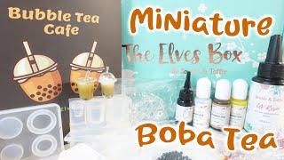 Sophie & Toffee Elves Subscription Miniature Bubble Boba Tea Drinks