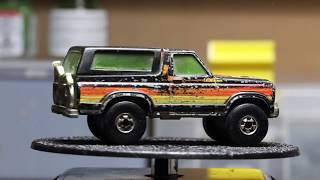 Hot Wheels Restoration : 1981 Ford Bronco  (4-Wheeler)