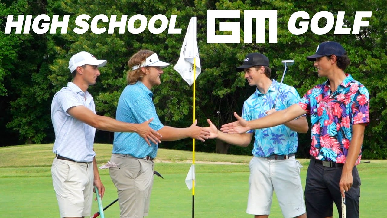 We Challenged 2 Of My High School Teammates To a Golf Match... Who Wins?!