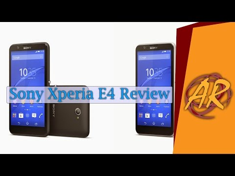 مراجعة مواصفات و خصائص هاتف سوني الجديد Xperia E4 للطبقة المتوسطة | Sony Xperia E4 Review