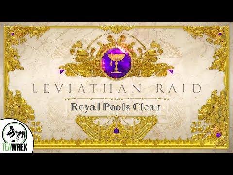Destiny 2: Leviathan Raid - Royal Pools Clear