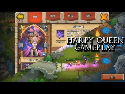 Castle Clash: Harpy Queen Gameplay (In Action)