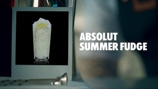 Absolut Summer Fudge Drink Recipe - How To Mix