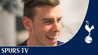 Gareth Bale talks about winning the Football Writers