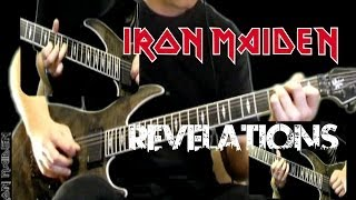 Iron Maiden Revelations Cover All Guitar Parts