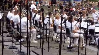 The Navy Band At The Navy Memorial - Washington DC - 7/19/2016.