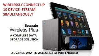 SEAGATE WIRELESS PLUS|2 TB|WIFI ENABLE HARD DISK -A COMPLETE STORAGE SOLUTION