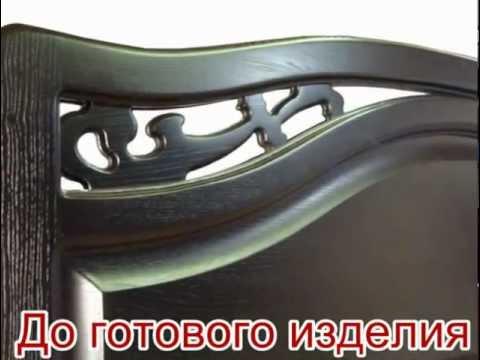 Мебель для спальни из массива дерева на заказ в Москве
