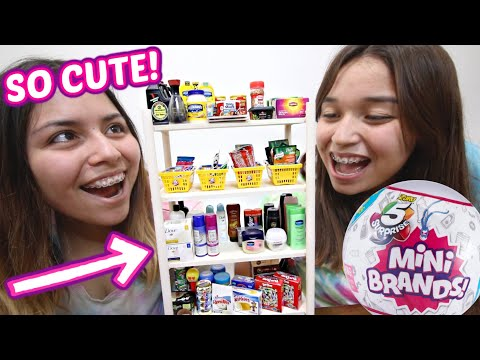 MINI BRANDS! DIY MINI BRANDS (how To Store Your MINI BRANDS) *EASY*