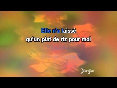 Karaoké Je chante - Mika *