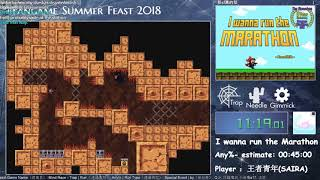 【FASF2018】Run 51 - I wanna run the Marathon Any% by 王者青年(SAIRA)