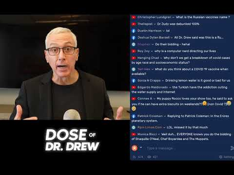 Today's Dose Of Dr Drew With You!