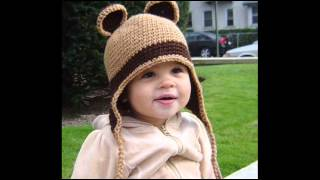 30 вариантов вязаных детских шапочек
