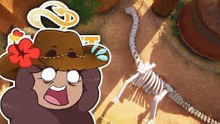 Digging Up Dino Bones with Wild Dogs?! 🦒 SAHULA SAFARI • #40