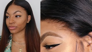 Laying Wig With No Baby Hairs Very Very Detailed
