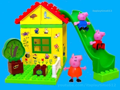 Peppa Pig Tree House Construction Set from Jazwares - itsplaytime612