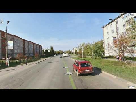 видео тур : город Балахна Нижегородская область