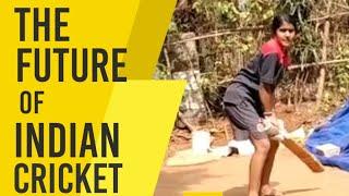 Junior Smrithi Mandhana   16 Year Old Girl Wins Hearts With Her Amazing Cricket Shots