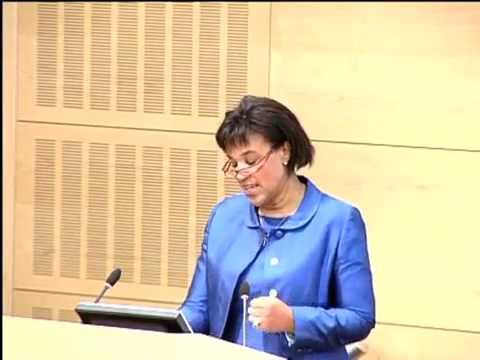 Baroness Scotland gave the Keynote Address at the launch of Black Letter Law 2009.