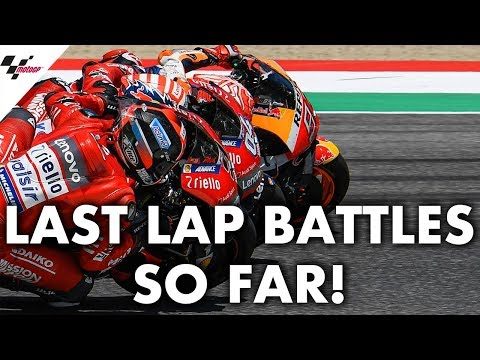 Every last lap battle from the 2019 MotoGP™ season so far!