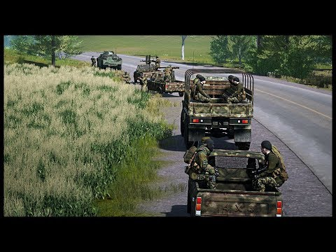 EPIC Mechanized Militia Convoy