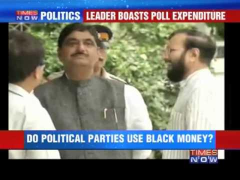 Munde mocks EC on black money?