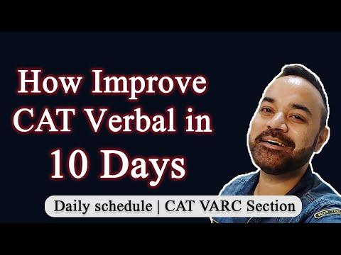 How Improve CAT