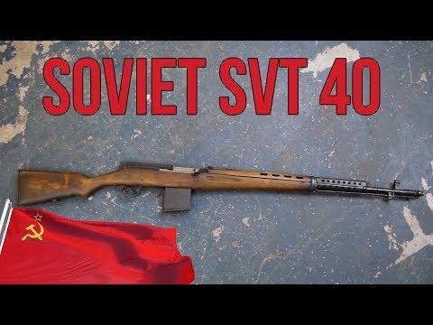 Lets Talk Tokarev: The Soviet SVT 40