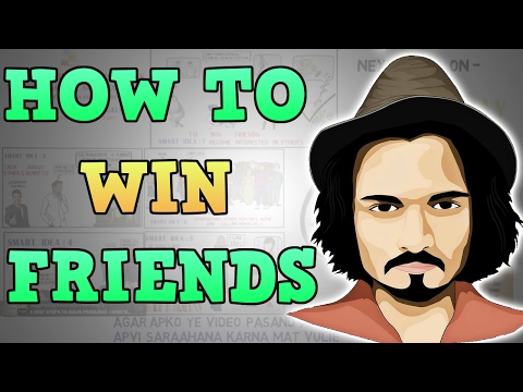 HOW TO WIN FRIENDS AND INFLUENCE PEOPLE | Motivational video in Hindi