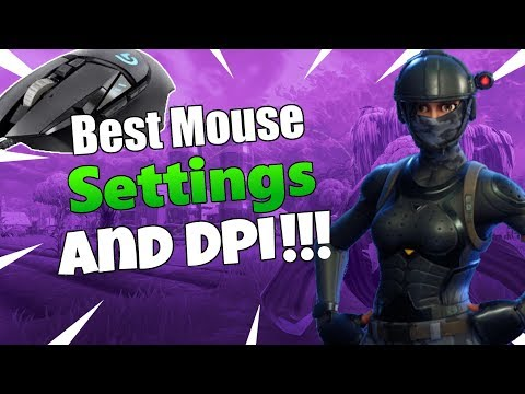 Best Fortnite Sesnitivity And DPI!!!