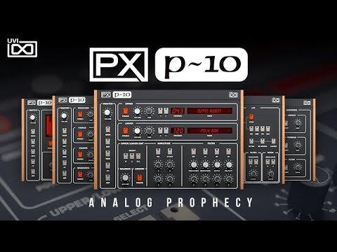 UVI PX P10  Trailer