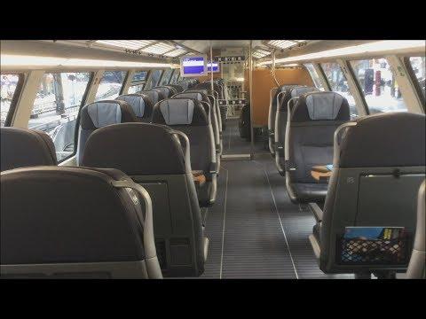 Doppelstock Intercity/ IC2 der Deutschen Bahn: Mitfahrt im IC Köln Hauptbahnhof - Solingen